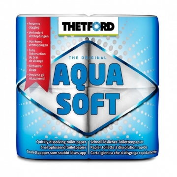 Toaletní papír Aqua Soft - rozkladový
