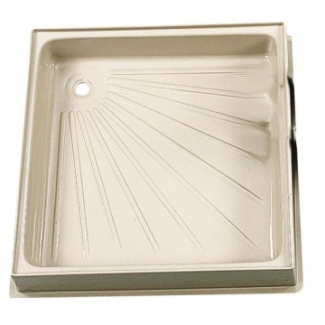 Sprchová vanička 600 x 600 mm -béžová