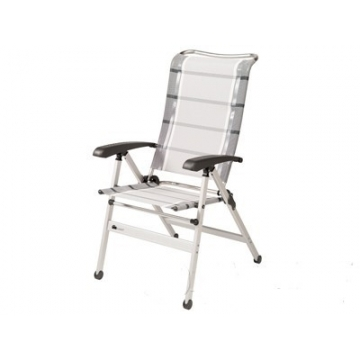 Kempová židle Dukdalf Cha-Cha - stříbrná