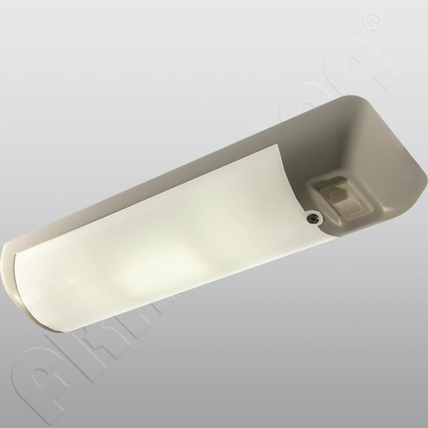 LED světlo FriLight se spínačem - stříbrné