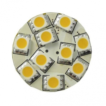 10 LED SMD Modul, 12V AC/DC 2,5W patice GZ4